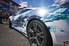 Lamborghini #Gallardo Printwrap by StickySigns with Avery SWF Chrome