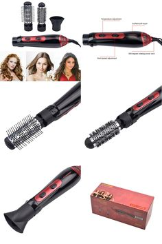 [Visit to Buy] 220-240V Electric Hair Dryer Curler Hair dryer Styler Hair Blow Dryer Machine Brush Comb Straightener Diffuser Styling Tool61 #Advertisement