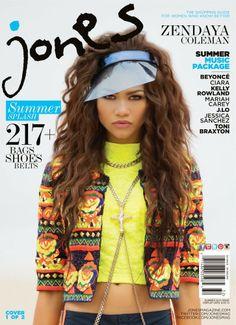 mariamacomk: Zendaya Coleman para Jones Magazine ... !!!!