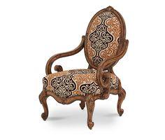 Oval Back Wood Chair - Grp2/Opt1 | Lavelle Melange | Michael Amini Furniture Designs | amini.com