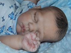 Adorable Reborn Baby Boy*Sweetie*D.RuBert*Alicia's Angels*Art Doll*Biracial*1day
