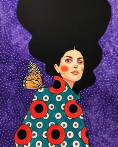 Easy Canvas Painting, Canvas Art, Gustav Klimt, Cubism Art, Magic Art, Colorful Paintings, Aesthetic Art, Portrait Art, Cool Artwork