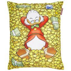 Dagobert Duck Zitzak 165 x 135 cm - Geld