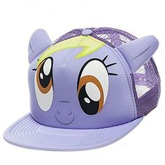 31edb42a356 My Little Pony Muffins Big Face Snapback Purple Trucker Hat  MyLittlePony   BaseballCap Big Face