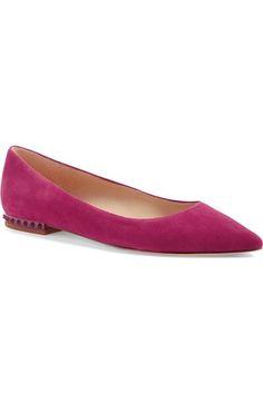 fe0ff25c608b Sam Edelman  Reyanne  Spike Rand Pointy Toe Flat (Women)