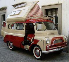 1960′s Bedford Dormobile