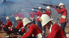 Zulu - Internet Movie Firearms Database - Guns in Movies, TV and Video Games British Armed Forces, British Soldier, British Army, Zulu Warrior, War Film, British Colonial, Military History, Great Movies, Victorian Era