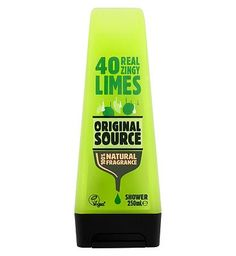 Original Source Lime Shower 250ml 10001307 8 Advantage card points. Original Source Pure Lime Shower Gel produces a fresh citrus aroma giving you a refreshing and reviving sensation. FREE Delivery on orders over 45 GBP. http://www.MightGet.com/february-2017-1/original-source-lime-shower-250ml-10001307.asp