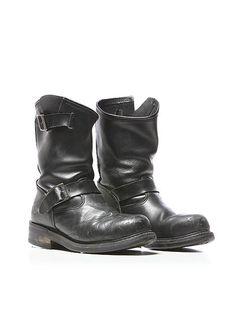 Herman Engineer Boot Mens Motorcycle Boots, Biker Boots, Men Boots, Ankle Boots, Me Too Shoes, Men's Shoes, Fashion Boots, Mens Fashion, Biker Style