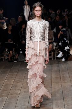 See the Alexander McQueen spring/summer 2016 collection. Click through for full gallery at vogue.co.uk