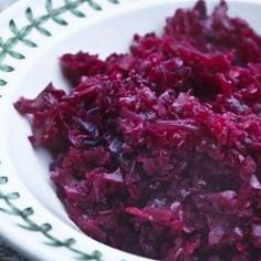 """Grandma Jeanette's Amazing German Red Cabbage Recipe """"will sub carrots for apples and caraway seeds for cloves."""""""
