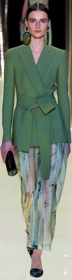Armani Prive Fashion Show & More Luxury Details