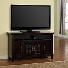 Parker House Tahoe 50 in TV Console  Vintage Burnished Black * Details can be found by clicking on the image. (Amazon affiliate link)