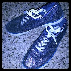 Sparkley shoes! Size 10 sparkley tennis shoes. Super cute and in good used condition. Make me an offer:) Shoes Sneakers