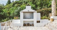 wood stove in the Traditional villa for 8 in North Zakynthos, Greece, near The Peligoni Club with a pool