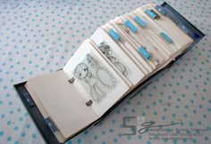 """""""Rolodex Clear Stamp Storage"""" - this is a great idea for clear stamps! Scrapbook Room Organization, Scrapbook Storage, Craft Organization, Organizing Crafts, Sticker Organization, Scrapbook Rooms, Organizing Life, Craft Room Storage, Storage Ideas"""