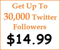 Get More Twitter Followers From BuySEOBacklink.org, The Cheapest SEO and Social Marketing Provider.