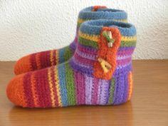 Ravelry: Antoinette06's Felted Slippers