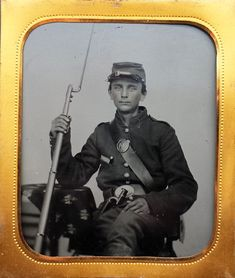 Early photographic images of the soldiers who fought during the Civil War