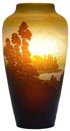 1000 images about emile galle on pinterest glass vase for Vaso galle