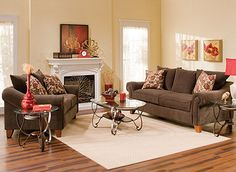 Molly Transitional Chenille Living Room Collection | Design Tips & Ideas | Raymour and Flanigan Furniture