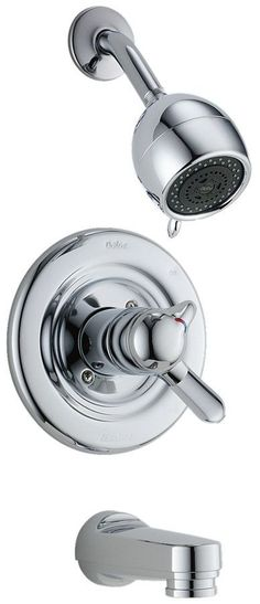 Other Core Diverter Tub and Shower Faucet with Lever Handle