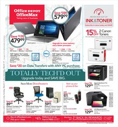 Searching Office Depot Weekly Ad OfficeMax Ad Flyer this week valid March 11 – 17, 2018. Customers can buy any office supplies, office furniture, office products, & technology, paper, ink, toner & more, and find trusted brands at everyday low prices.          (adsbygoogle = ...