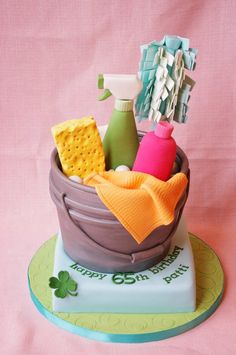 Spring Cleaning Cake