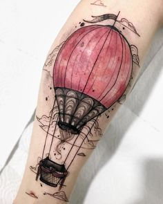 Home - tattoo spirit - , , South American temperament with irrepressible creativity Felipe Mello comes from the Brazilian - Home Tattoo, Tattoo L, Piercing Tattoo, New Tattoos, Body Art Tattoos, Cool Tattoos, Pretty Tattoos, Beautiful Tattoos, Air Balloon Tattoo