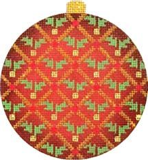 Melissa Shirley Designs   Hand Painted Needlepoint   New Designs, needlepoint ornament