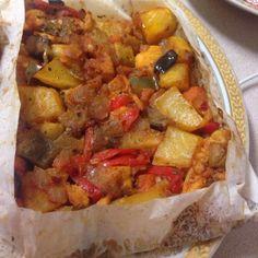 Tavuklu Kağıt Kebabı – Nefis Yemek Tarifleri Pork, Sweet, Ethnic Recipes, Kale Stir Fry, Candy, Pork Chops
