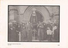 Procesión la tarde de Viernes Santo en #Balmaseda en 1912
