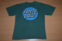 Vintage 90s SANTA CRUZ Skateboards NHS Powell Peralta Independent Trucks L size T-shirt by OldSchoolZone on Etsy