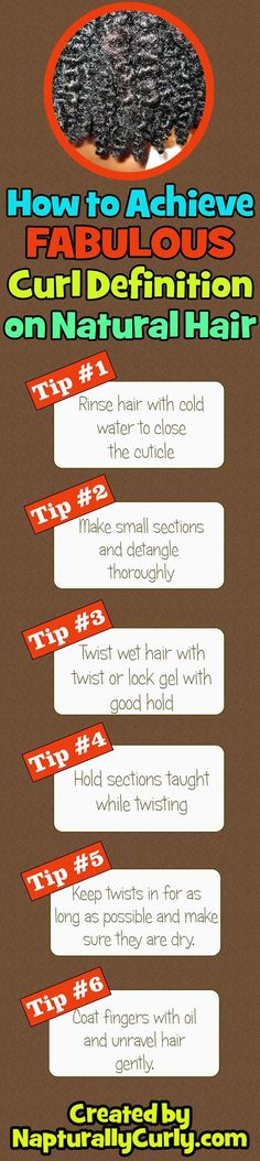 Make your curls stand out by making them super defined with these tips. - If you like this pin, repin it and follow our boards :-)  #FastSimpleFitness - www.facebook.com/FastSimpleFitness: