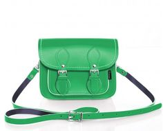 Green Micro Satchel