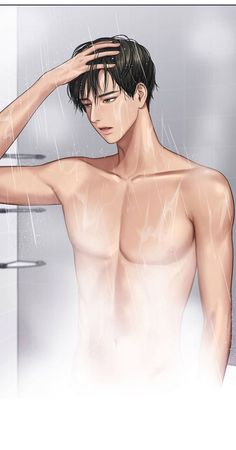 Suho in the shower💦 Anime Cupples, Anime Comics, Hot Anime, Anime Boys, Kawaii Anime, Angel Aesthetic, Aesthetic Photo, Aesthetic Art, Girl Cartoon Characters