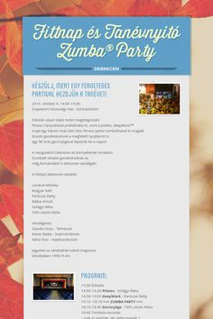 Fittnap és Tanévnyitó Zumba® Party - Debrecen