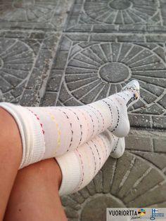 """Roxie"" bamboo sock. vuoriortta.fi"