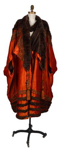 Circa 1915-1920 Evening coat, Frederick & Nelson.