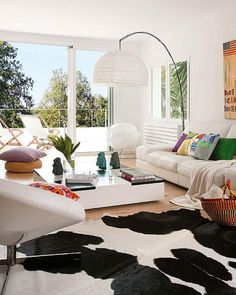Old country modern #fur#rug