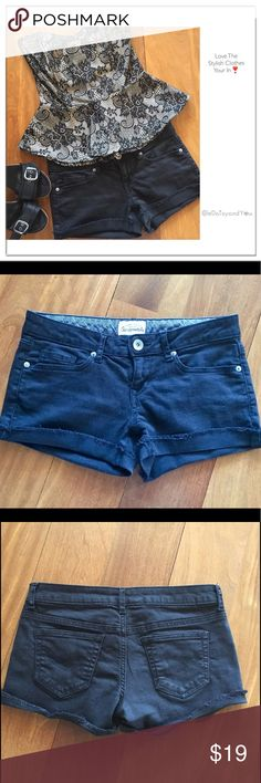 🇱🇷July 4th Sale🇱🇷 Trendy Shorts These Aeropostale black shorts go with EVERYTHING! Dress them up or down, whatever makes you feel beautiful. They are in like new condition.  👛 No Trade 🌸 All Offers 🌸 Click The Offer Button 🌷 Smoke Free Home  ✔️Reasonable Offer Aeropostale Shorts