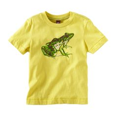 How fun would it be to visit the coqui in a froggy t-shirt. #TeaCollection.