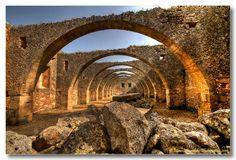 Old Olive Mill, Agios Yiorgos Monastery, Karidi, Crete
