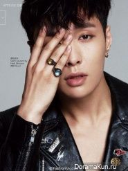 Lay (EXO) for Vogue China August 2015