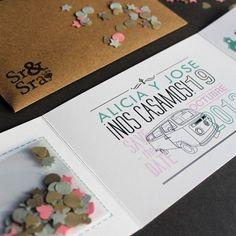 En nuestro blog encontraréis ideas originales para las invitaciones de vuestra boda! No os lo perdáis! http://www.cateringya.com/invitaciones-originales-para-bodas/