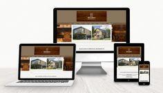 Webdesign - Holzbaumeister WebdesignLand Web Design, Polaroid Film, Weaving, Design Web, Website Designs, Site Design