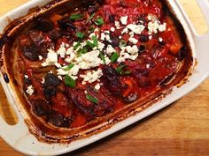Cooking For Busy Mums: Slow Cooked Lamb Forequater Chops - Greek Style