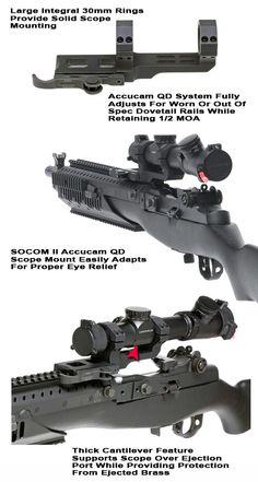 M1a Scout Scope Mount Socom 16 Gg Amp G Tactical Accessories
