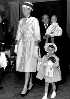 Princess Grace Prince Albert II Princess Caroline.