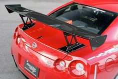 SunLine Racing Dry Carbon 3D GT Wing | Nissan R35 GTR | Tuning Boost